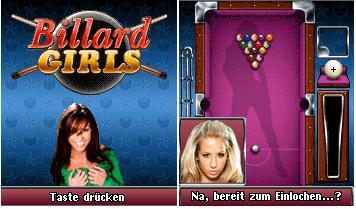 java игра Billard Girls