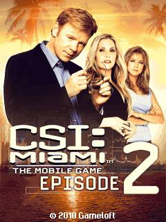 игра CSI: Место преступления Майами. Эпизод 2