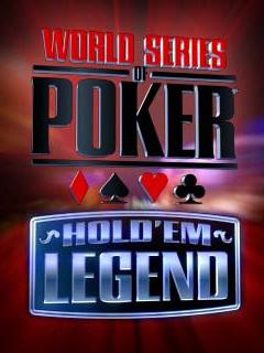 java игра Мировая Серия Покера: Легенда Холдема
