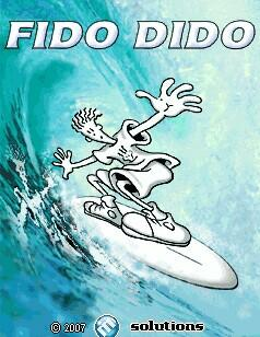 java игра Фидо Дидо: Серфинг