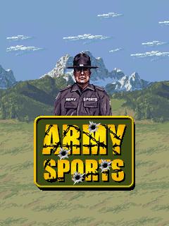 java игра Спорт в армии