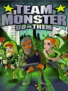 java игра Team Monster Us vs Them