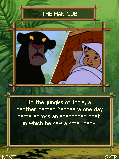 java игра Маугли: Книга Джунглей