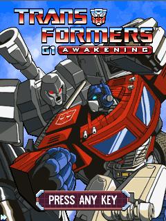 игра Transformers G1: Awakening