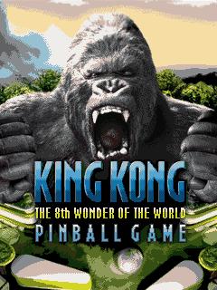 java игра Кинг Конг: Пинбол