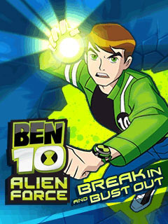мобильная java игра Ben 10: Alien Force Break In and Bust