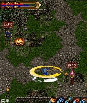 java игра Темный Бог Войны