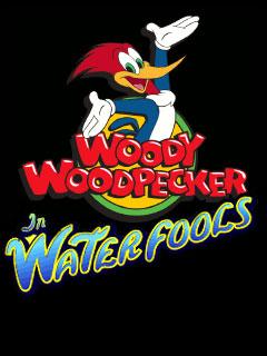 java игра Вуди Вудпеккер: В водопадах