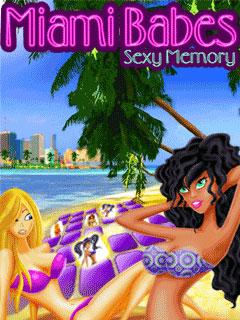 Девочки Майами Секс-память java-игра