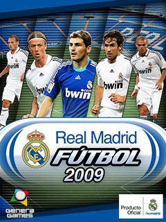 java игра Реал Мадрид Футбол 2009 3D