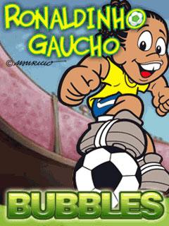 java игра Ronaldinho Gaucho Bubbles