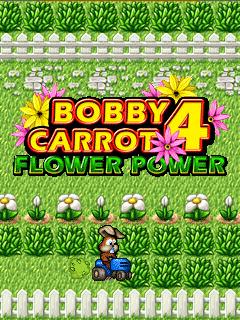 мобильная java игра Морковный Бобби 4: Сила Цветов