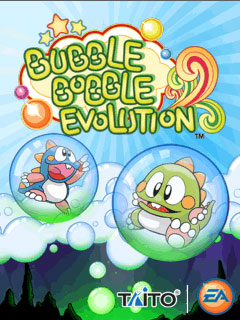 мобильная java игра Bubble Bobble Evolution