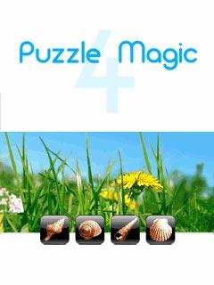 мобильная java игра Магические Паззлы 4