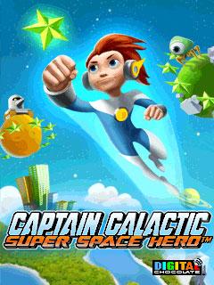 java игра Капитан Галактика: Космический Супергерой