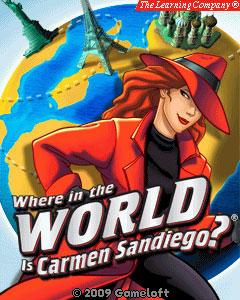мобильная java игра В погоне за Кармен Сандиего. Кругосветное путешествие