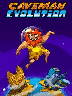 java игра Пещерный Человек. эволюция