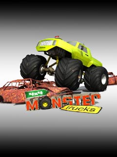 java игра 4x4 Monster Trucks 3D