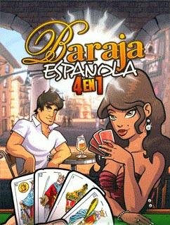 java игра Baraja Espanola 4 en 1