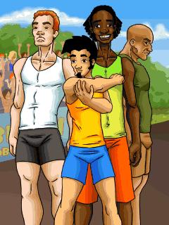 java игра Грязный Джек: Секс Олимпиада