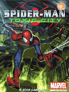 java игра Человек-Паук: Кислотный Город