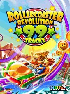 java игра Rollercoaster Revolution 99 Tracks