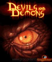 Дьяволы и Демоны java-игра