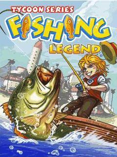 java игра Легенда Рыбалки