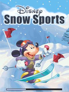 java игра Дисней Зимние Игры