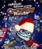 java игра Crazy Frog Racer. Christmas Edition