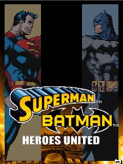java игра Superman & Batman: Heroes United