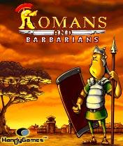 java игра Римляне и Варвары