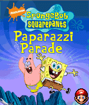 игра Sponge Bob Paparazzi Parade