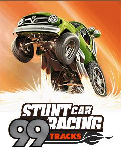 java игра Stunt Car Racing 99 Tracks