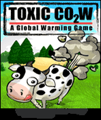 java игра Toxic Cow 2. A Global Warming Game