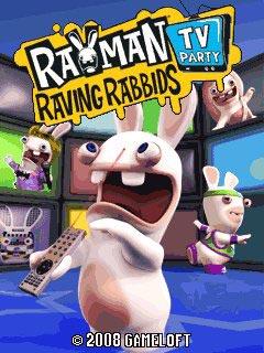 игра Rayman Raving Rabbids TV Party