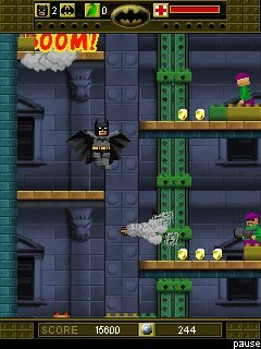 java игра Lego Batman. The Mobile Game