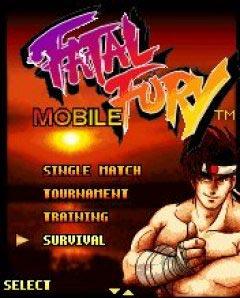 java игра Fatal Fury Mobile