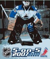 java игра НХЛ 5 на 5 2007