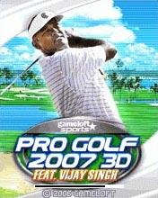 Профессиональный Гольф 2007 3D java-игра