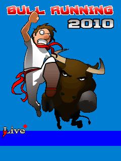 java игра Бега с Быками 2010