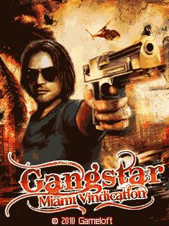 мобильная java игра Gangstar 3: Miami Vindication