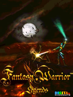 java игра Fantasy Warrior Legends
