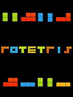 мобильная java игра Ротетрис
