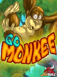 java игра Беги, обезьянка!
